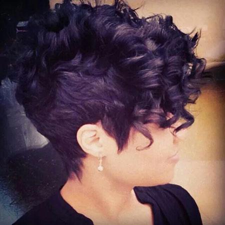 Short Curly Hair - 8-