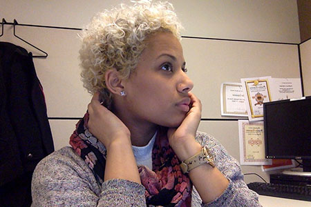 Short Curly Hairstyles Black Women - 11