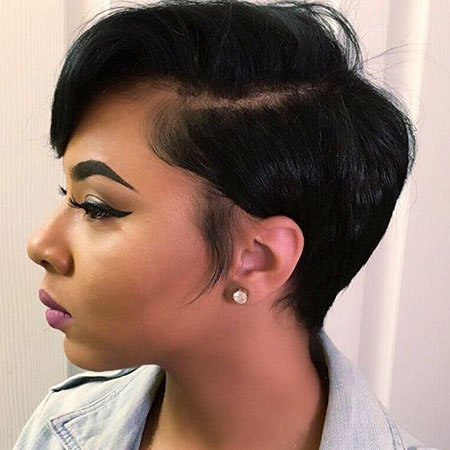 Short Haircuts for Black Women - 11-