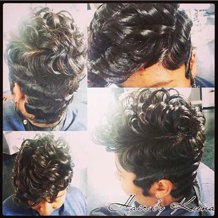 Finger Waves On African American Hair