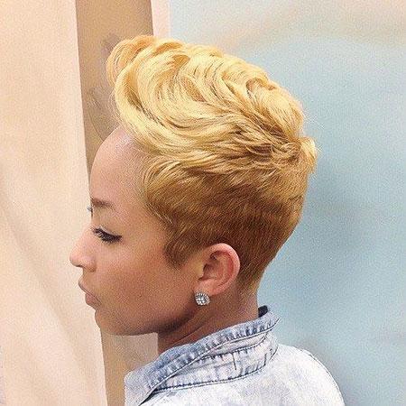 Choppy Pixie Hair