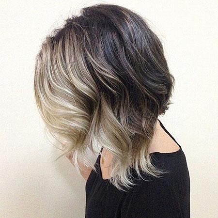 Short Hair with Bangs - 18