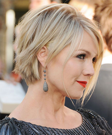 Jennie Garth Cropped Hair