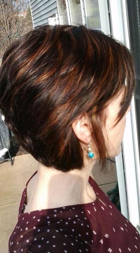 Short Hair with Bangs - 21