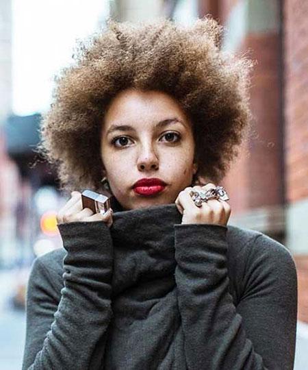 Short Curly Hairstyles Black Women - 23-