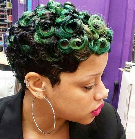Short Curly Hairstyles Black Women - 24-