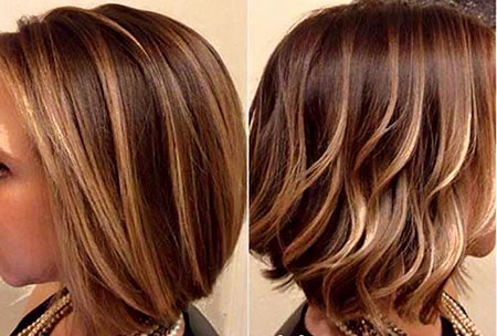 Caramel Highlights Hair