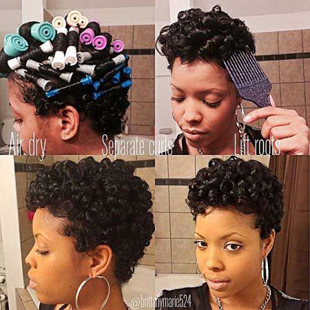 Short Curly Hairstyles Black Women - 30-