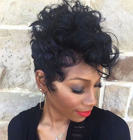 Short Curly Hairstyles Black Women - 31-