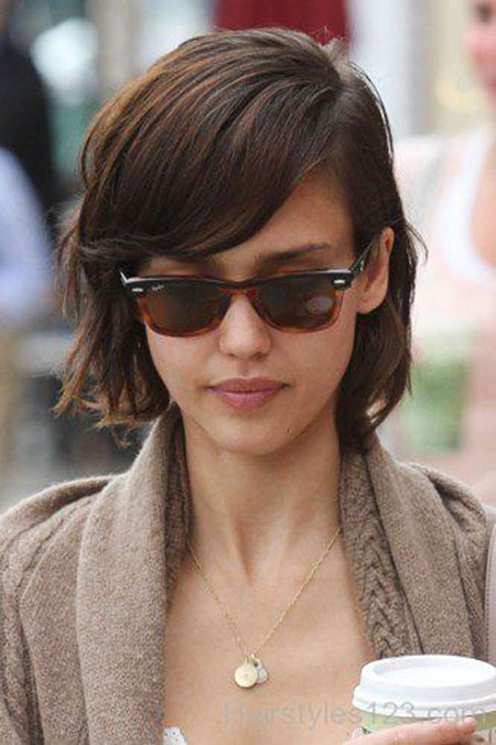 Jessica Alba's Short Hair