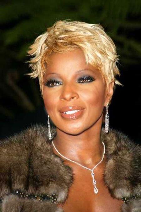 Blonde Pixie for Black Women Hair