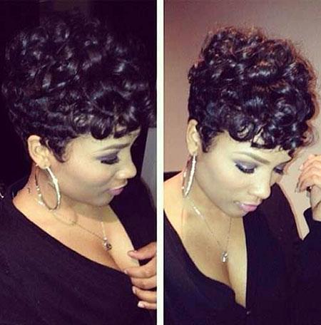 Short Curly Hairstyles Black Women - 35-
