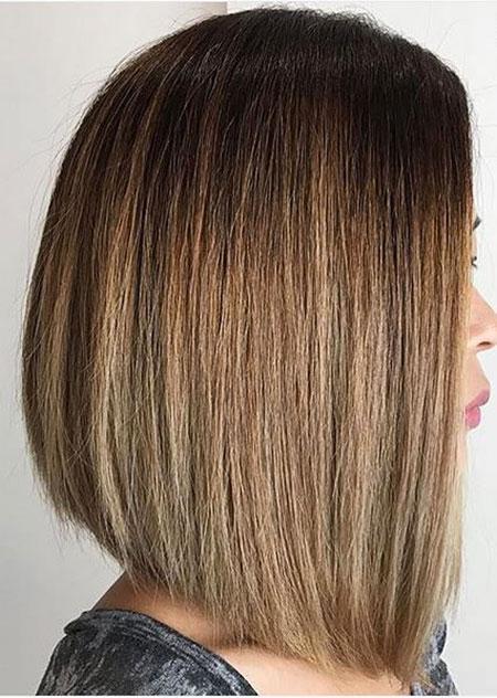 Blunt Cuts and Asymmetrical Line Hair