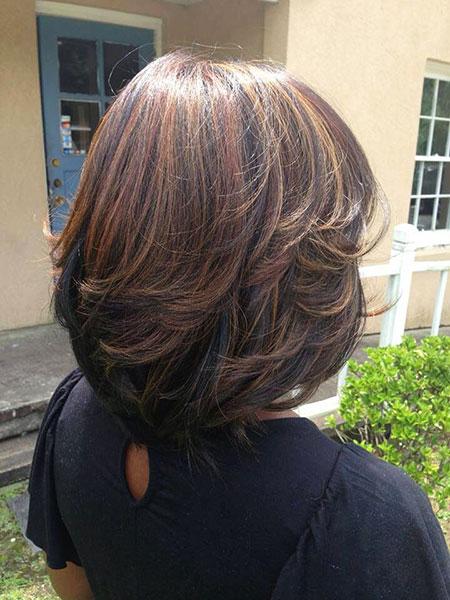 Caramel Highlights Hair