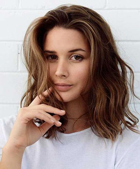 Short Hair with Bangs - 8