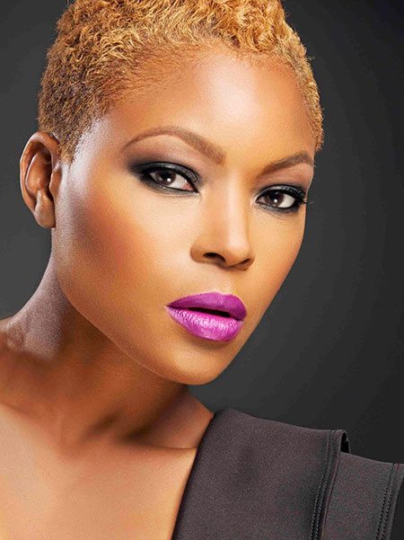 Short Haircuts for Black Women - 8-