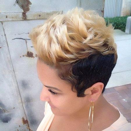 New Short Hair for Black Women