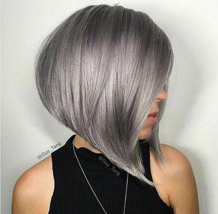 Grey Short Hair 2016