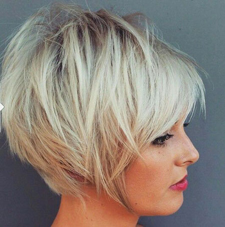 Cute Long Pixie Bob Hair
