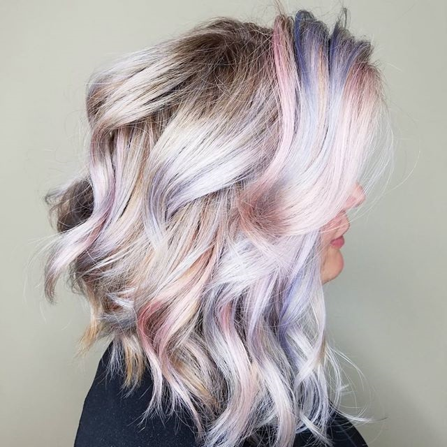 Long Bob Hairstyles with Curls
