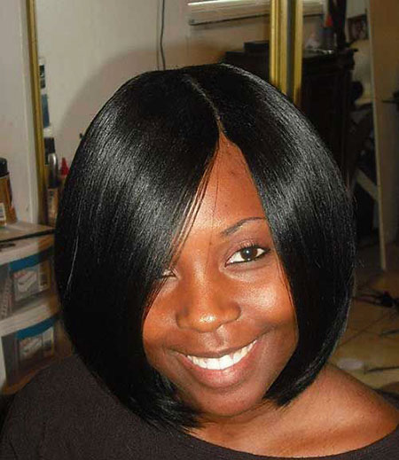 Short Hairstyles with Bangs - 21-