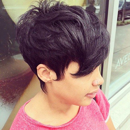 Short Hairstyles with Bangs - 23-