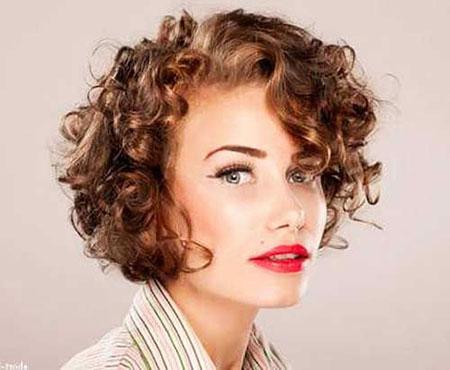 Short Hair with Bangs - 26-