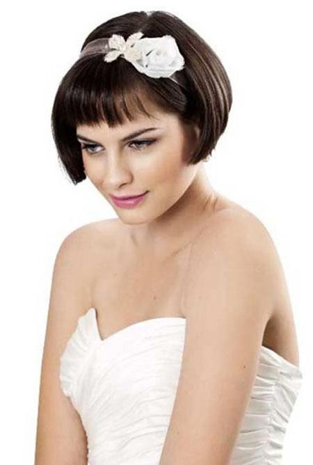 Short Hair with Bangs - 31-