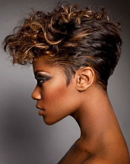 Short Hairstyles with Bangs - 32-