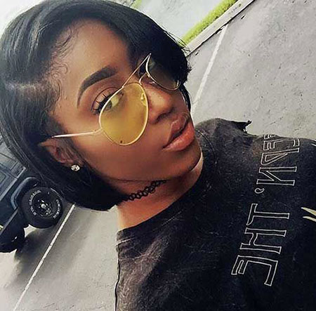 Short Haircuts for Black Women - 10-