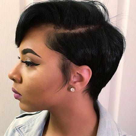 Short Haircuts for Black Women - 11-