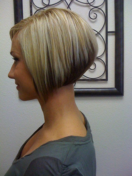 Cute Angled Bob Hair