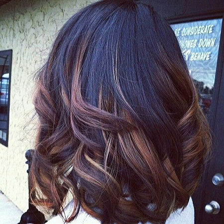 Pretty Dark Ombre Bob Hair