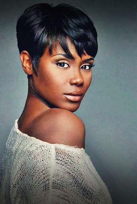 Short Haircuts for Black Women - 18-