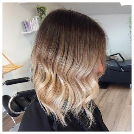 Striking Ombre Bob Hair