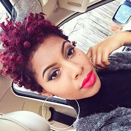 Short Curly Hairstyles Black Women - 33-