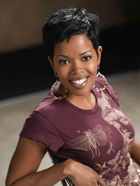 Malinda Williams Pixie Cut Hair