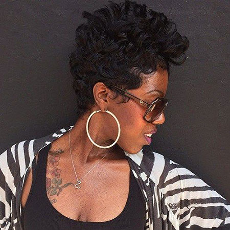 Short Haircuts for Black Women - 35-