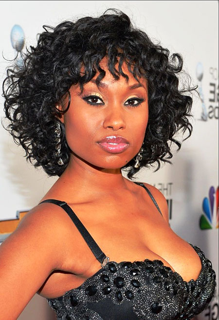 Short Curly Hairstyles Black Women - 37-