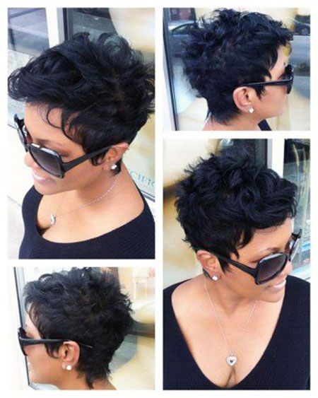 Short Curly Hairstyles Black Women - 42-