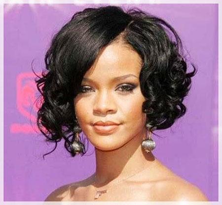 Rihanna's Bob Hair