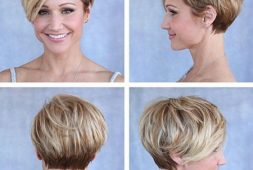 chic-cute-short-haircuts-for-round-faced-women