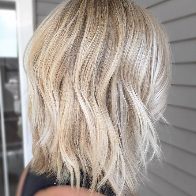 Short Beach Blonde Hair