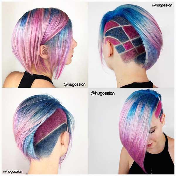Nice Short Hair Color