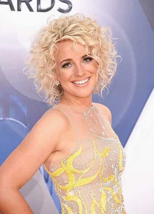 Short Curly Blonde Hair - 10