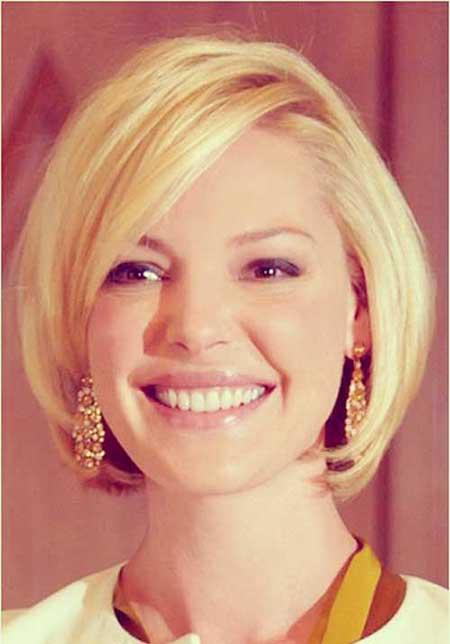 Short Haircuts for Round Faces - 11
