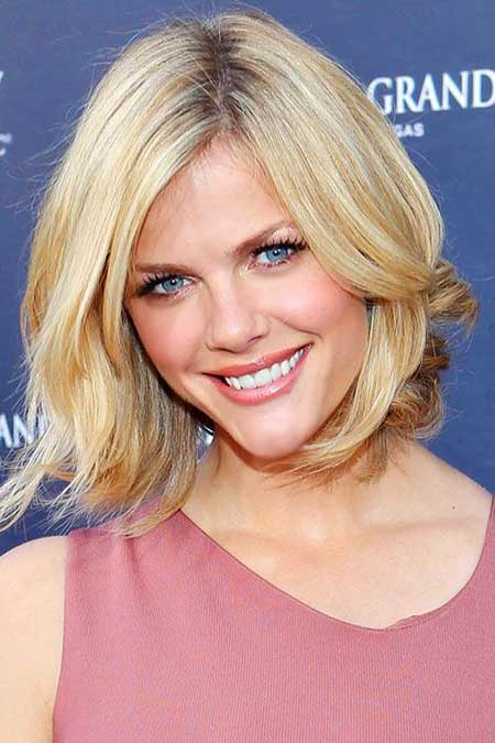 Short Hairstyles for Oblong Faces - 11