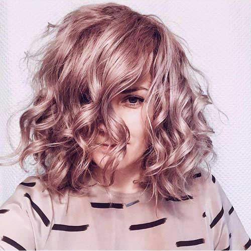 Short Curly Blonde Hair - 12
