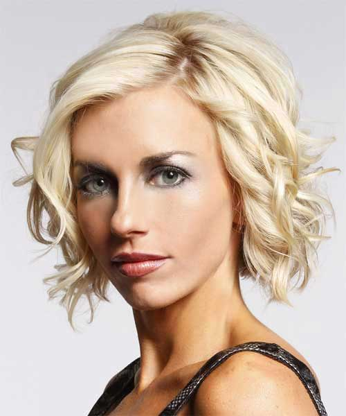 Short Curly Blonde Hair - 13