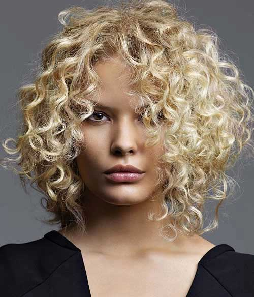 Short Curly Blonde Hair - 16
